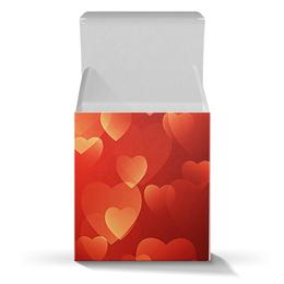 "Коробка для кружек ""сердце"" - стиль, сердца"