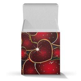 """Коробка для кружек """"ЯРКОЕ СЕРДЦЕ"""" - любовь, стиль, сердца, красота, яркость"""