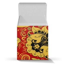 """Коробка для кружек """"Хохлома"""" - фолклор, национальные узоры, хохлома"""