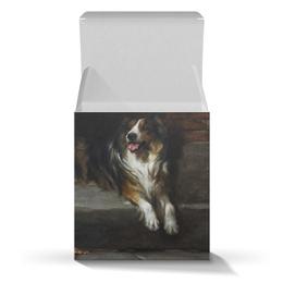 """Коробка для кружек """"Колли (картина А.Вардля)"""" - картина, собака, колли, живопись, артур вардль"""