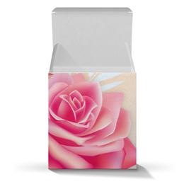 """Подарочная коробка-куб """"Розочки"""" - цветы, розы"""