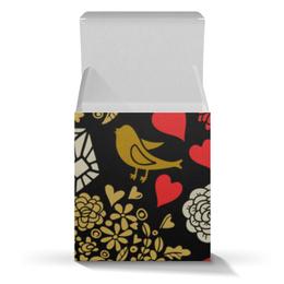 """Коробка для кружек """"День Св. Валентина"""" - цветы, сердца, валентинка, день св валентина"""