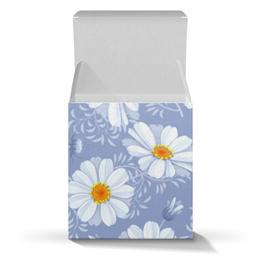 """Подарочная коробка-куб """"Ромашки"""" - цветы, ромашки"""