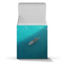 """Коробка для кружек """"Summer time!"""" - лето, море, подарок, коробка, подарочная упаковка"""