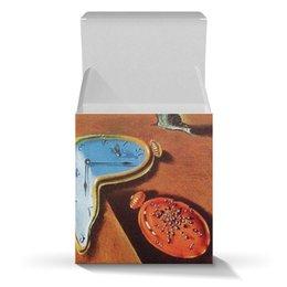 """Коробка для кружек """"Постоянство памяти Сальвадора Дали"""" - картина, сальвадор дали, подарок, постоянство памяти, текущие часы"""