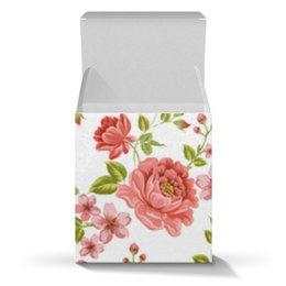 """Коробка для кружек """"Цветы"""" - розы, цветы"""