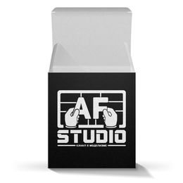 """Коробка для кружек """"Стиль AFstudio"""" - af, afstudio, ferarist"""