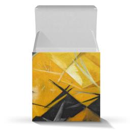 """Коробка для кружек """"Кошки (Розовое, черное и желтое)"""" - картина, живопись, гончарова"""
