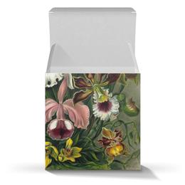 """Коробка для кружек """"Орхидеи (Orchideae, Ernst Haeckel)"""" - цветы, 8 марта, подарок, орхидея, бабушка"""