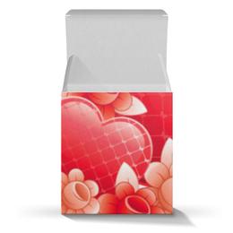 """Коробка для кружек """"Любимой женщине"""" - сердца, 14 февраля, 8 марта, подарок, женщине"""