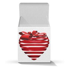 """Коробка для кружек """"3d сердце"""" - день святого валентина, 14 февраля, ко дню влюбленных, valentine's day, день влюбленных"""