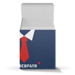 """Коробка для кружек """"день защитника отечества"""" - арт, стиль, рисунок, 23февраля"""