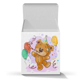 """Коробка для кружек """"Мишка Тэдди"""" - медвежонок, игрушка, праздничный, подарочный, мишка тэдди"""