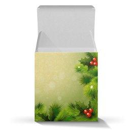 """Коробка для кружек """"Новогодняя"""" - праздник, арт, новый год, подарок, елка"""