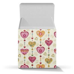 """Коробка для кружек """"Сердечки"""" - сердце"""