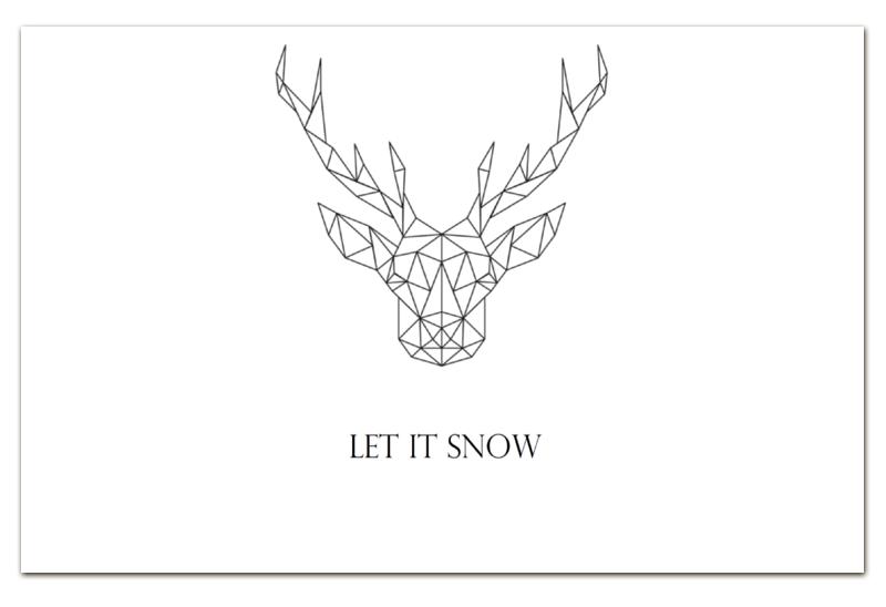 Визитная Карточка Евро Printio Dear deer отсутствует автомир 35 2017