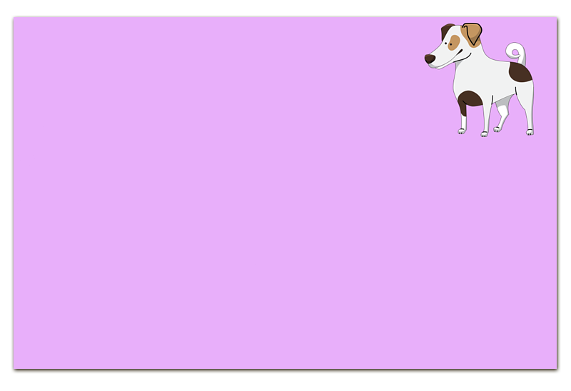 Визитная Карточка Евро Printio Джек рассел.собака джек восьмеркин американец 2 dvd