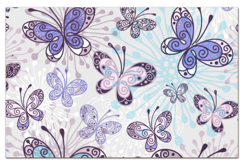 Визитная Карточка Евро Printio Фиолетовые бабочки отсутствует автомир 35 2017
