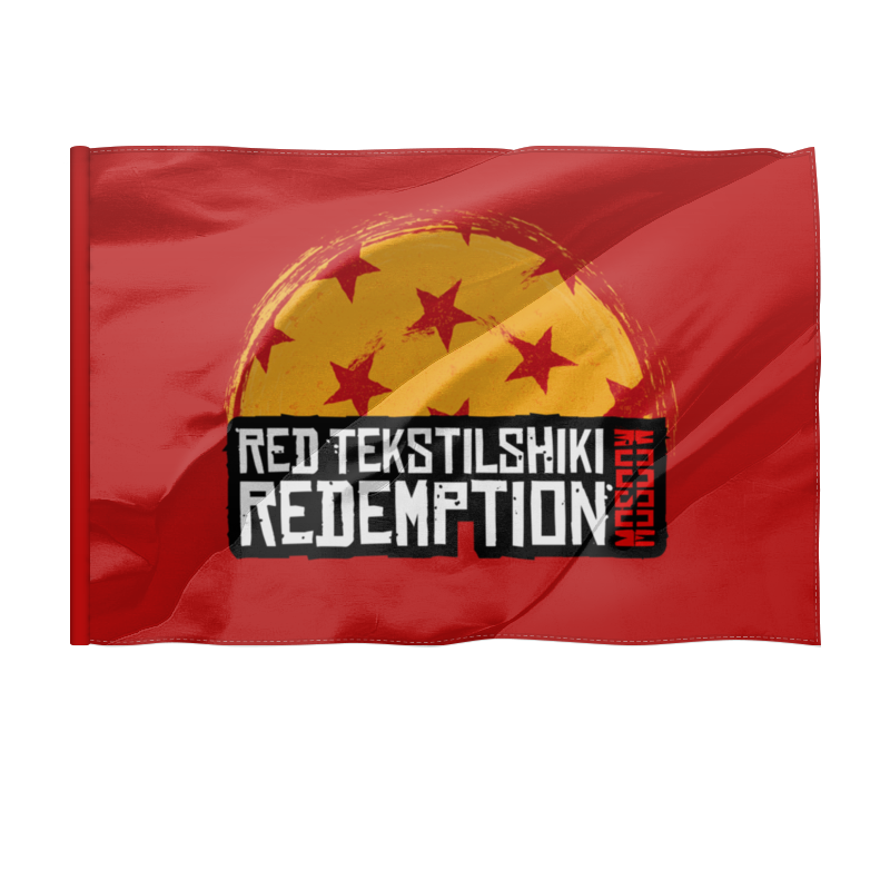 Флаг 135x90 см Printio Red tekstilshiki moscow redemption сумка printio red dead redemtion game