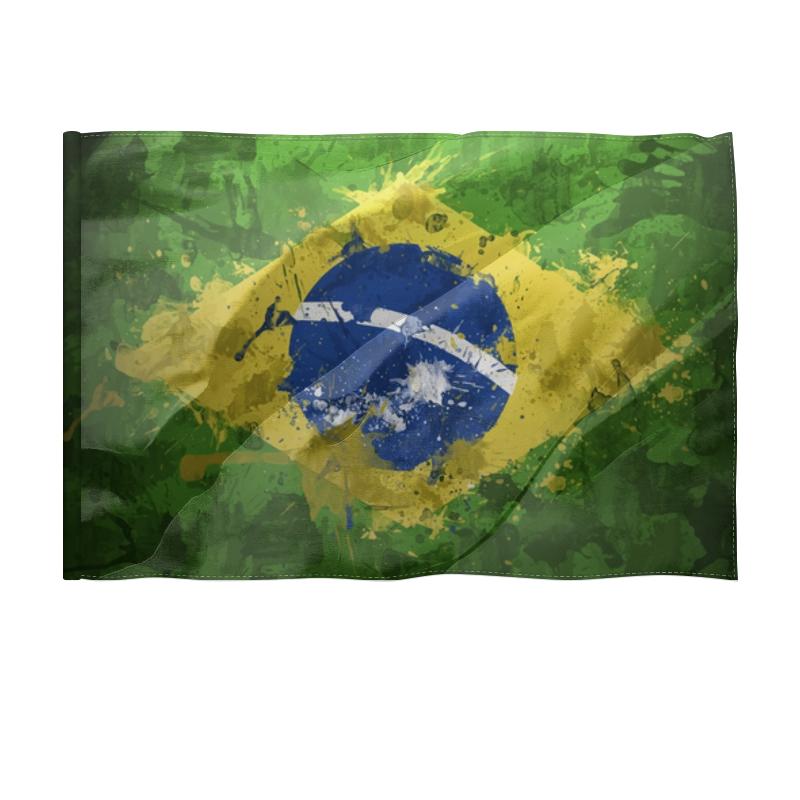 где купить Флаг 150x100 см Printio Бразилия дешево