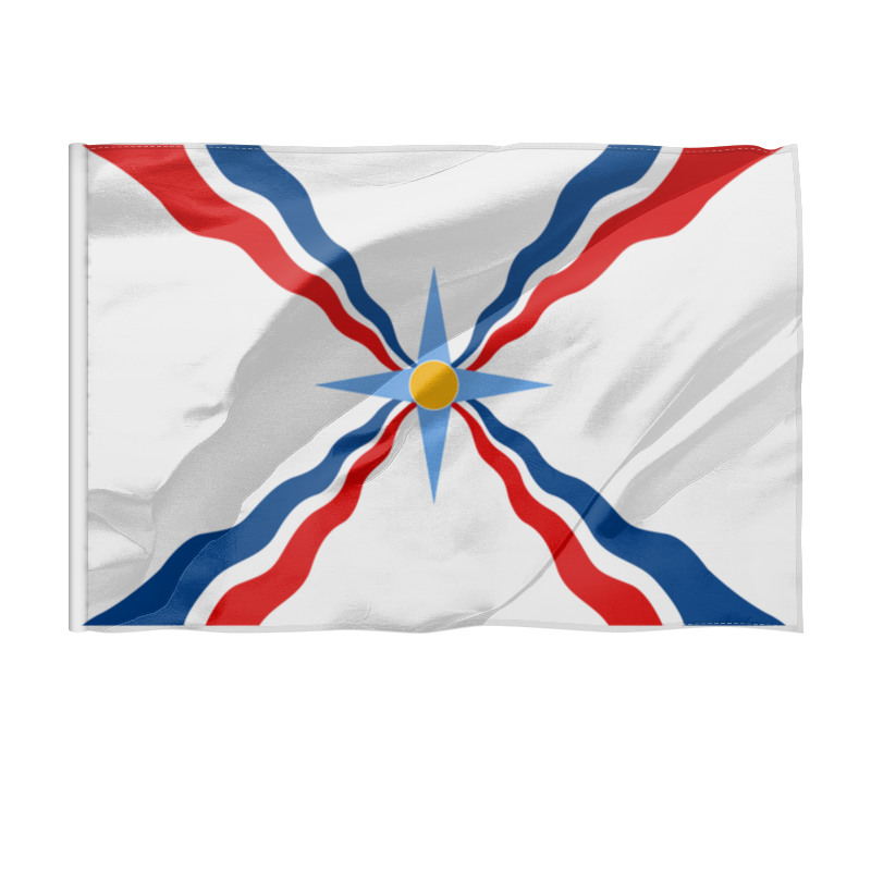 Флаг 150x100 см Printio Ассирийский флаг цены