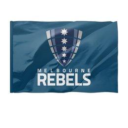 """Флаг 150x100 см """"Мельбурн Ребелс"""" - спорт, регби, супер регби"""