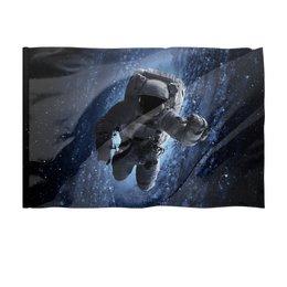 """Флаг 150x100 см """"Космос"""" - космос, фотография, вселенная, звёзды, космонавт"""