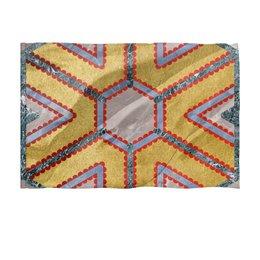 """Флаг 150x100 см """"Мандала Изобилия (Золото и Мрамор)"""" - узор, орнамент, богатство, премиум, плодородие"""