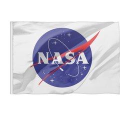 "Флаг 150x100 см ""NASA | НАСА"" - звезды, космос, наука, астрономия, the spaceway"