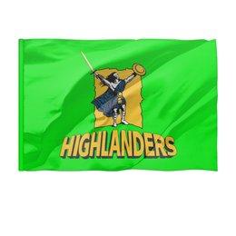 """Флаг 150x100 см """"«Хайлендерс» регби"""" - спорт, регби, новая зеландия регби, супер регби, горцы"""