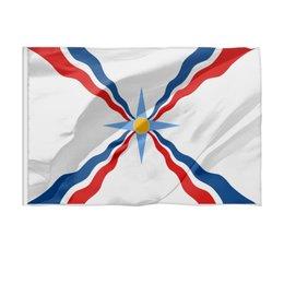 """Флаг 150x100 см """"Ассирийский флаг"""" - флаг, символ, ассирийский флаг, ассирийский, родной"""