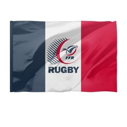 """Флаг 150x100 см """"Франция регби"""" - спорт, регби, кубок мира по регби, франция регби"""
