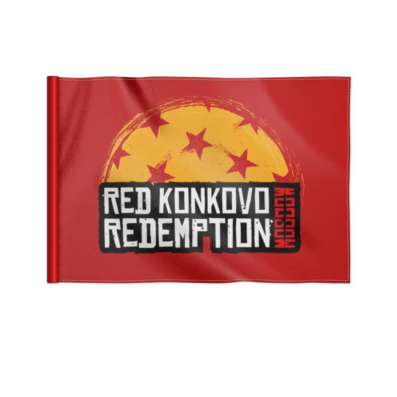 Флаг 22х15 см Printio Red konkovo moscow redemption флаг 22х15 см printio red butovo moscow redemption