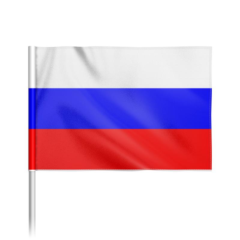 Флаг 22х15 см Printio Российская федерация