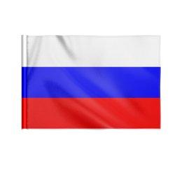 """Флаг 22х15 см """"Россия"""" - праздник, россия, день победы, 9мая, день города"""