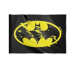 """Флаг 22х15 см """"Бетмен"""" - мышь, мыш, бетман, бетмен"""