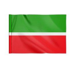 "Флаг 22х15 см ""Республика Татарстан"" - флаг, казань, татарстан, татары, флаг татарстана"