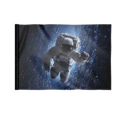 """Флаг 22х15 см """"Космос"""" - космос, фотография, вселенная, звёзды, космонавт"""