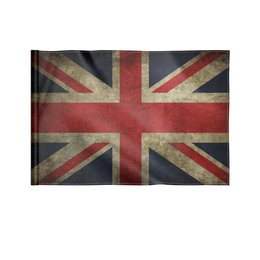 "Флаг 22х15 см ""Британский флаг"" - флаг, британия, британский флаг"