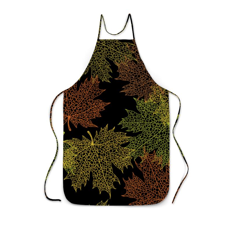 Фартук с полной запечаткой Printio Кленовые листья фартук с полной запечаткой printio система менделеева