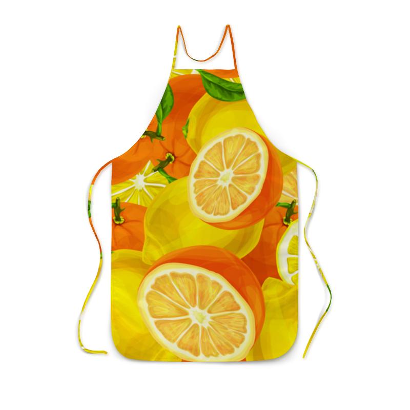 Printio Цитрусовый фартук с полной запечаткой printio лимоны