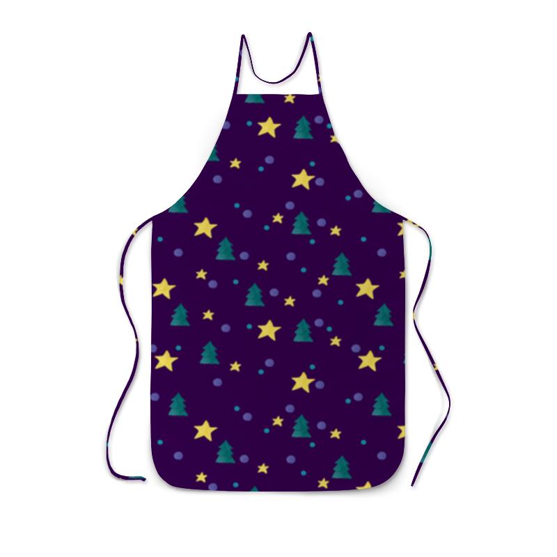 Фартук с полной запечаткой Printio Елки и звезды борцовка с полной запечаткой printio елки и звезды