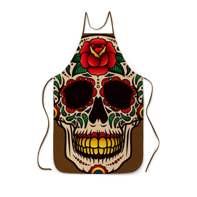 Фартук с полной запечаткой Printio Skull фартук printio skull heisenberg