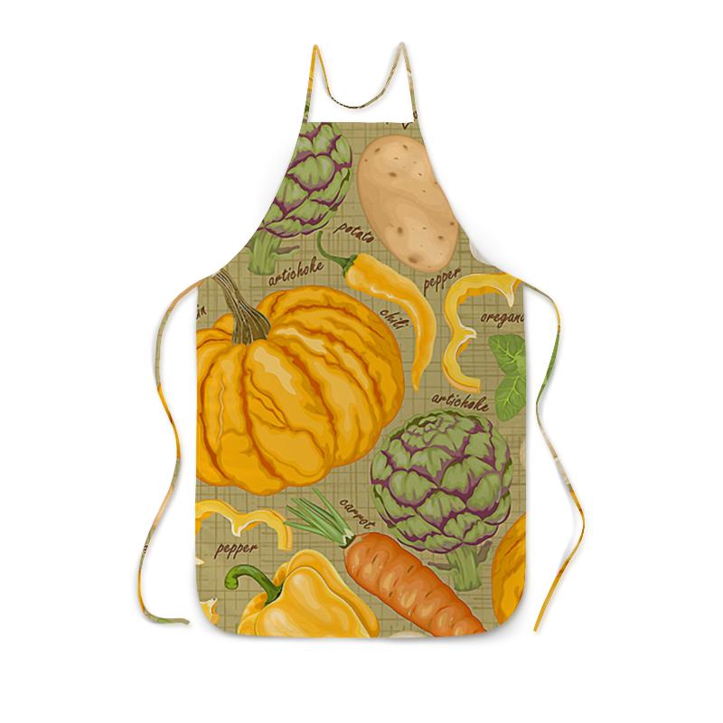 Фартук с полной запечаткой Printio Овощи овощи