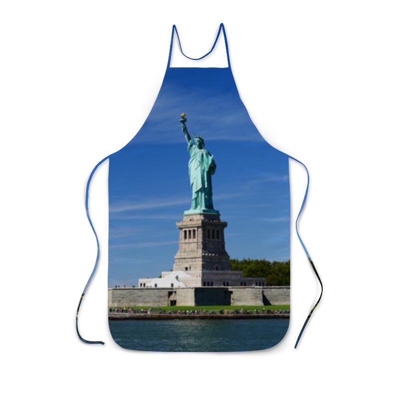 Фартук с полной запечаткой Printio Статуя свободы панели для кухни фартук в курске