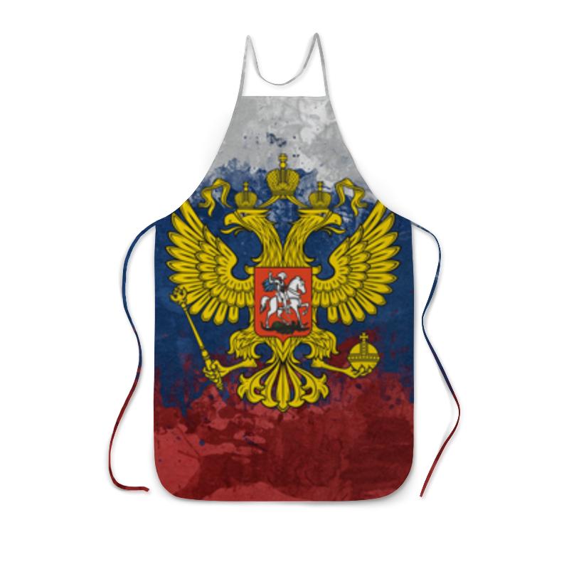 Фартук с полной запечаткой Printio Флаг и герб россии фартук с полной запечаткой printio фартук ассирийский флаг