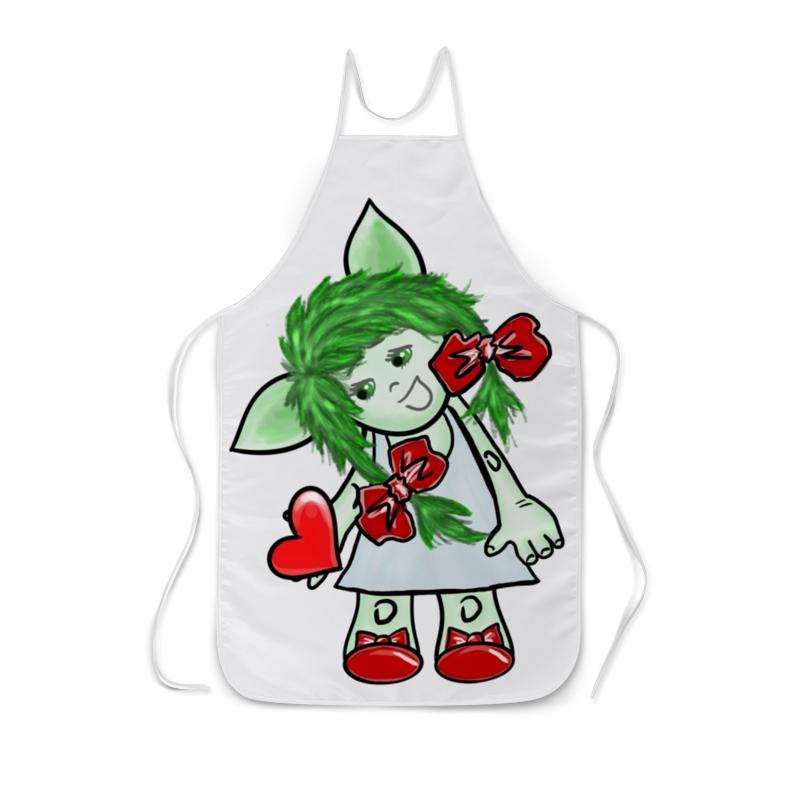 Printio Девочка-тролль с сердечком детская футболка классическая унисекс printio девочка тролль с сердечком