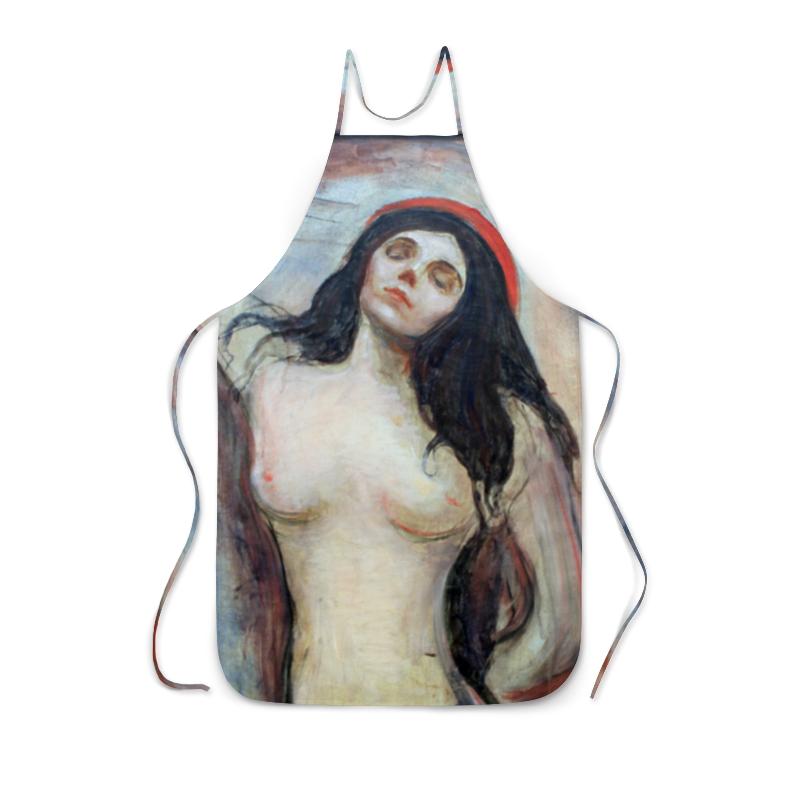 Фартук с полной запечаткой Printio Мадонна (картина мунка)
