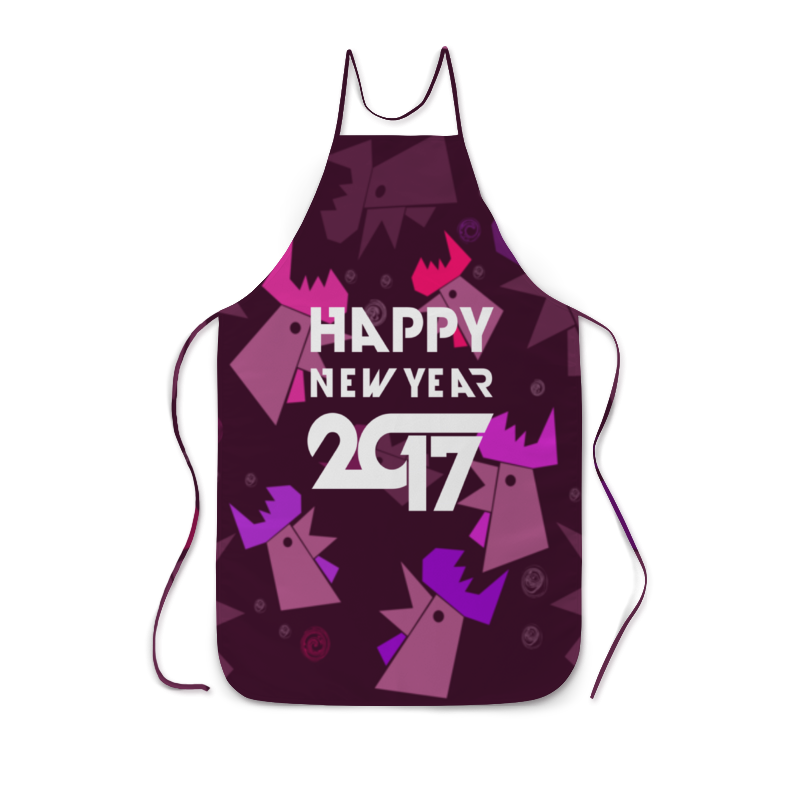 Фартук с полной запечаткой Printio Happy new year free shipping 10pcs 100% new sp2209eey