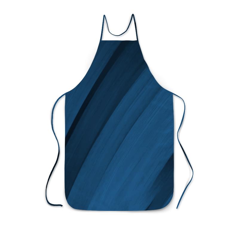 Фартук с полной запечаткой Printio Синяя абстракция сумка с полной запечаткой printio синяя абстракция